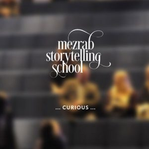 Mezrab Storytelling School :: logo, website, corporate design :: Amsterdam, The Netherlands
