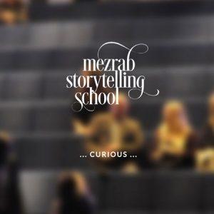 Mezrab Storytelling School :: logo, website, corporate design :: Amsterdam, The Netherlands