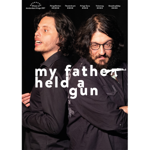 my father held a gun :: poster :: Amsterdam, The Netherlands