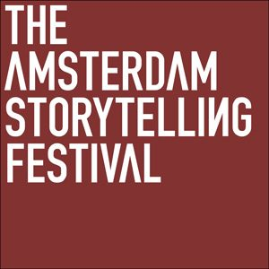 The Amsterdam Storytelling Festival :: logo, website, corporate design :: Amsterdam, The Netherlands